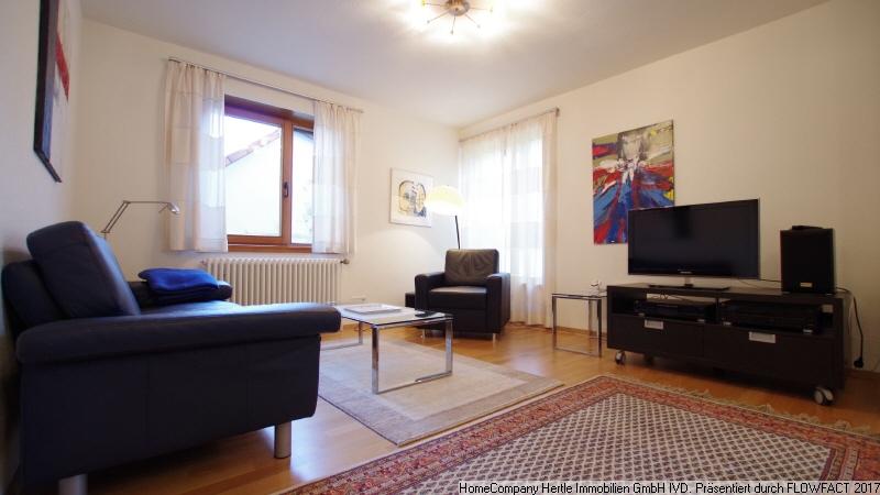 Hübsch möbliert mit Terrasse sowie Pkw-Stellplatz für 3-12 Monate in ruhiger Lage von Umkirch