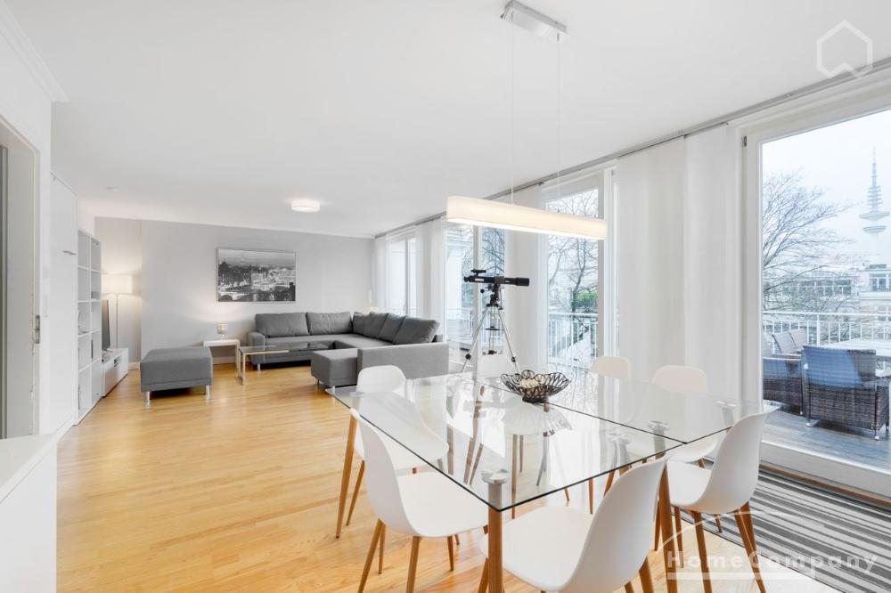 Stylish living in the best Alsternaher location in Rotherbaum