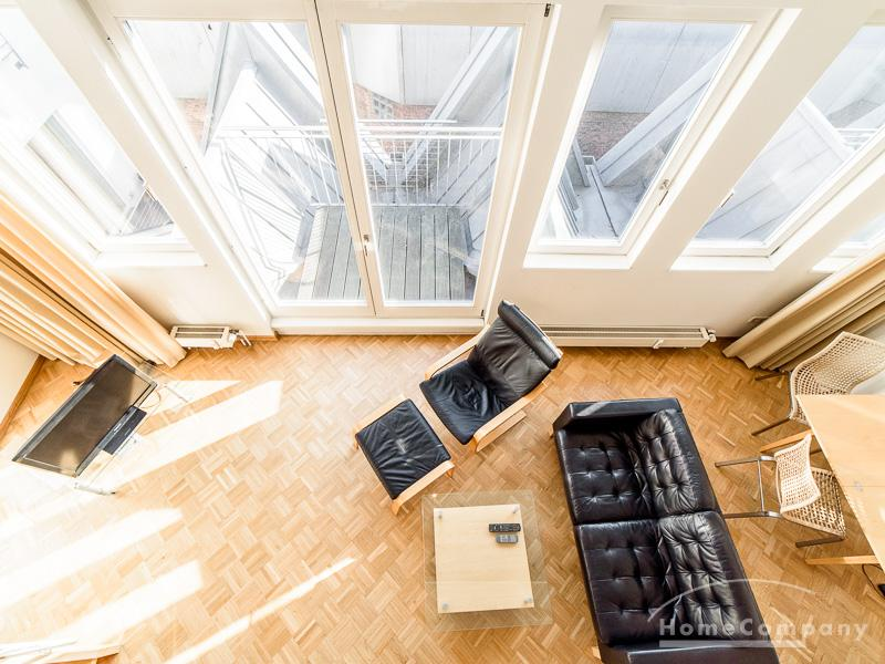Loft-style apartment in central location in Neustadt