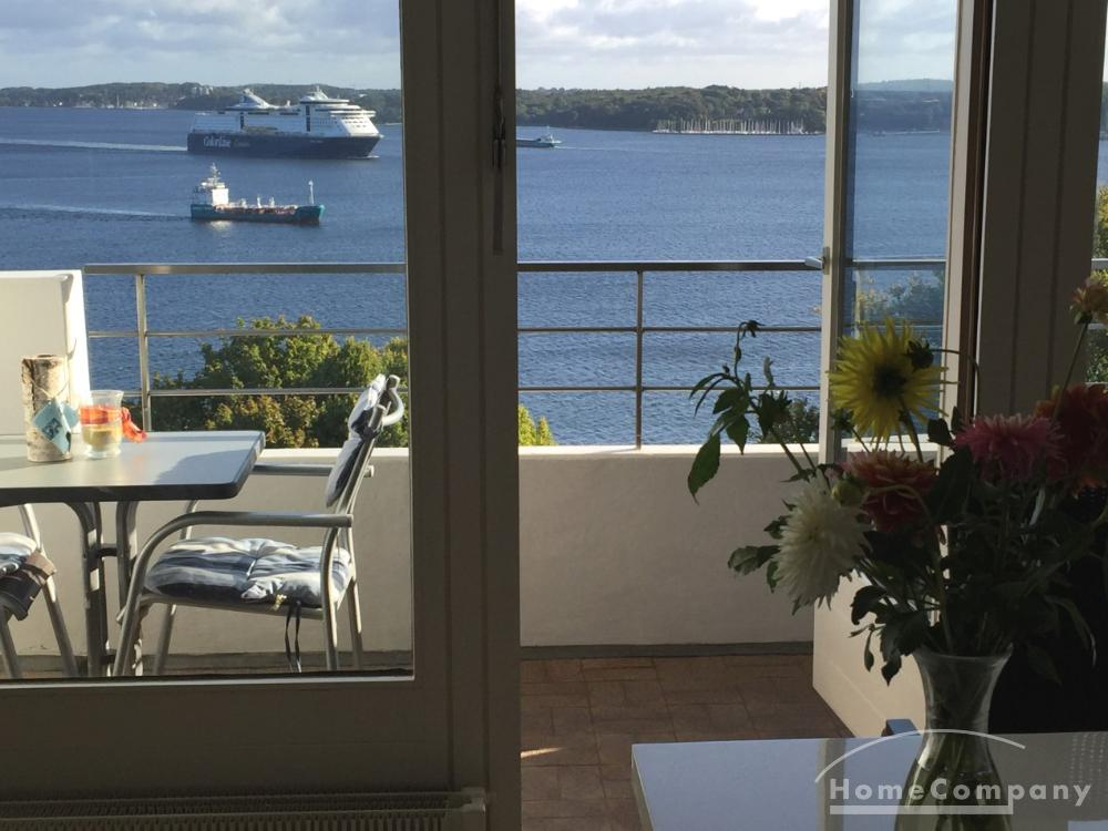 Furnished apartment with breathtaking views over the Kiel Fjord