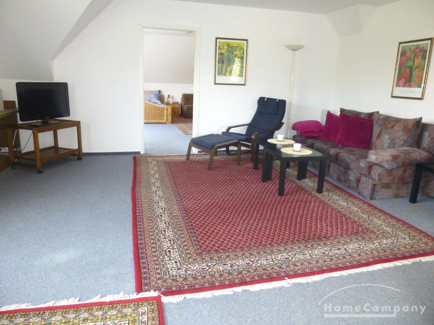 Very ample and fully furnished 2-room flat in Kiel-Heikendorf