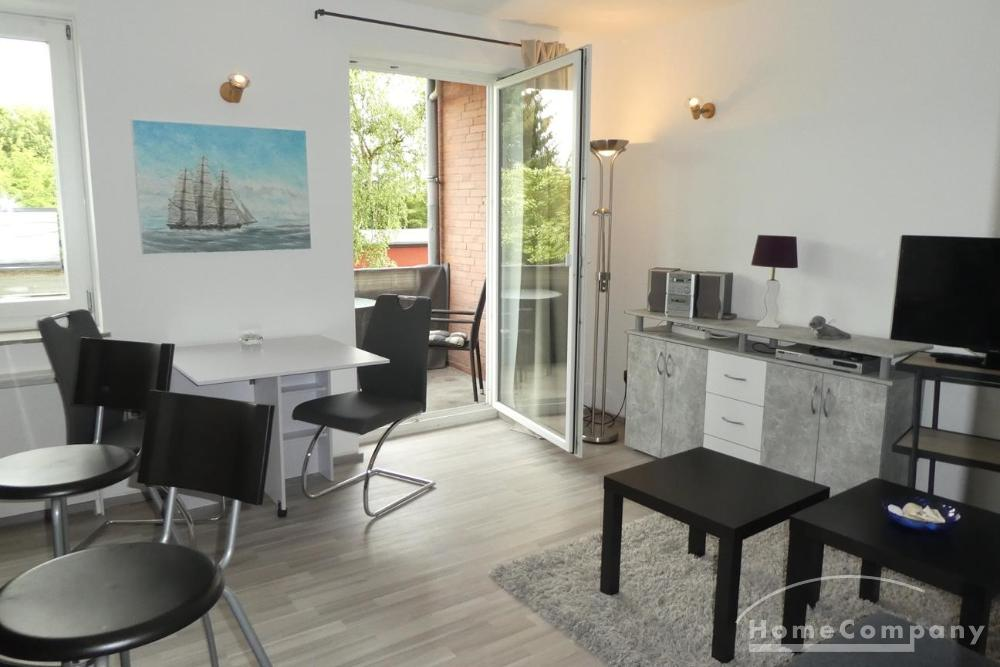 Newly Furnished 1 Bedroom Flat with Balcony, Kiel