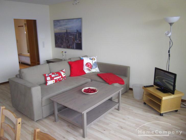 Bright and newly furnished 3-room flat in Schilksee, short term rent