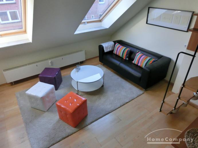 Very modern and comfortable studio apartment in Kiel-Schreventeich, furnished