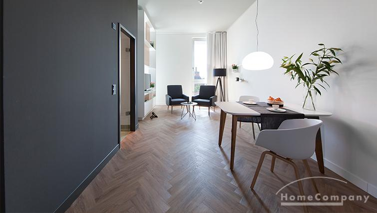 Beautifully furnished and perfectly equipped apartment in Parkstadt Schwabing, 34 sqm.