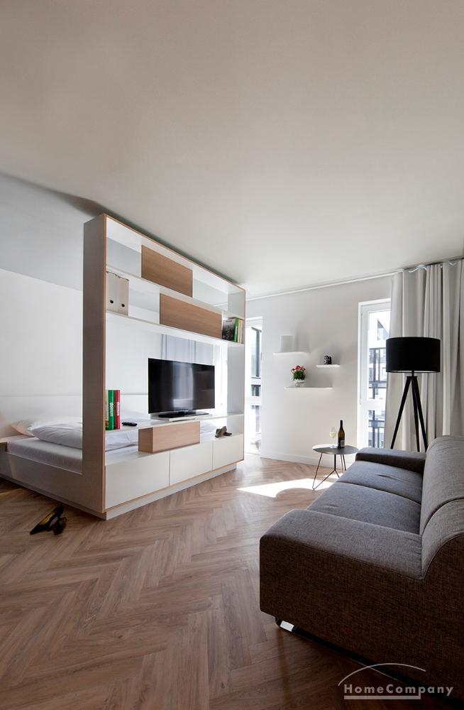 Beautifully furnished and perfectly equipped apartment in Parkstadt Schwabing, 28 sqm.