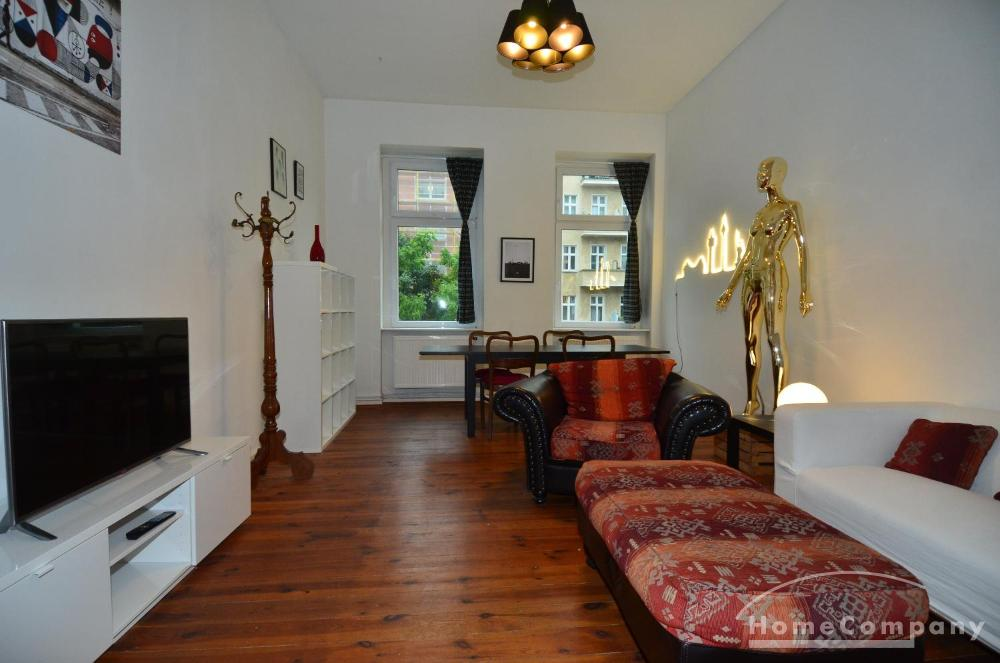Bright Apartment in Friedrichshain, Furnished, Berlin