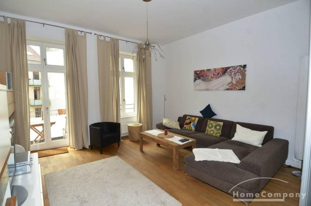 Modern 3 room apt in Berlin-Mitte, furnished