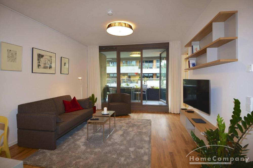Beautiful one bedroom apartment in Pankow, furnished
