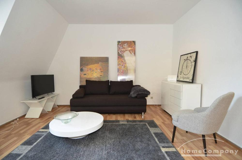 Stylish 1 bedroom flat with terrace, furnished, Berlin-Mitte