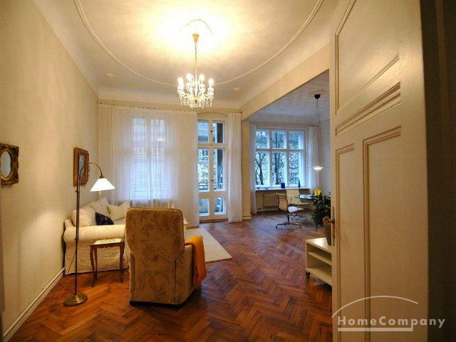 Spacious 5 room flat in Berlin Friedenau, ready furnished