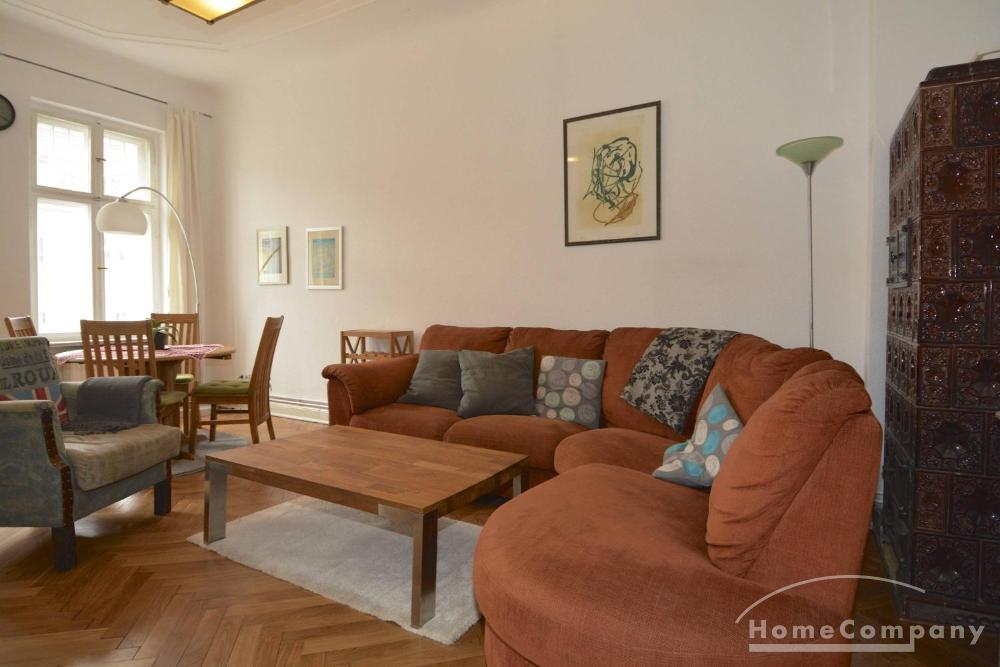 Beautiful Two Bedroom Flat with Balcony in Berlin Charlottenburg, Furnished