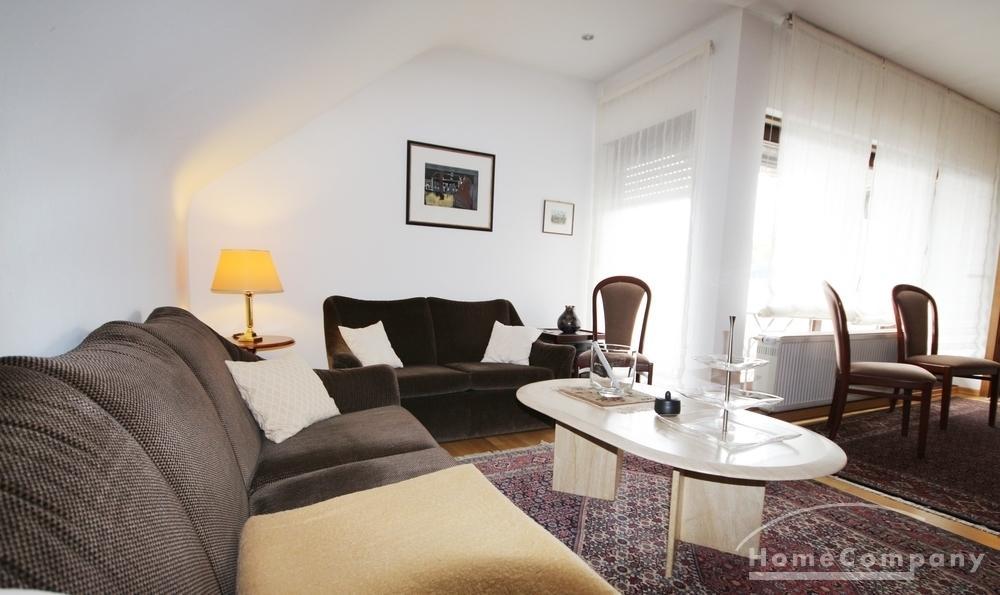 apartment on higher floor / short-term rental / Saarlouis
