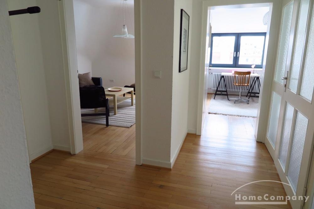 attic apartment / short-term rental / Saarbrücken