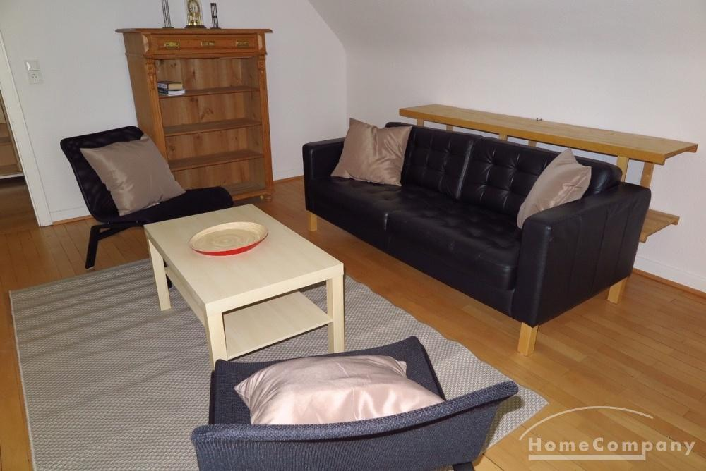 attic apartment / short-term rental / Saarbrücken